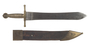 Spanish artillery short sword scabbard