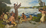 Painting- Father Hennepin Discovering the Falls of St. Anthony