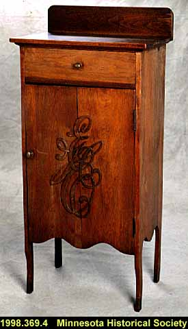 Music storage cabinet, made by Anthony Edward Ofstie