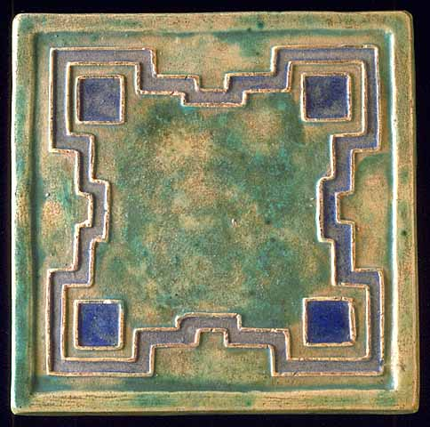 Arts and Crafts ceramic tile