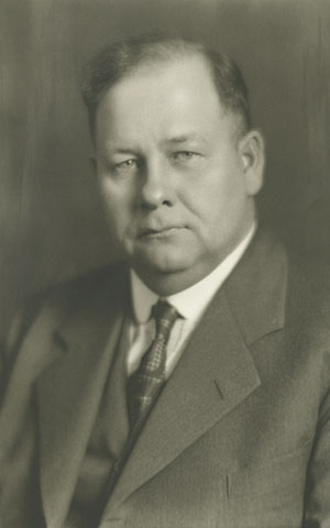 photo of Clarence R. Magney